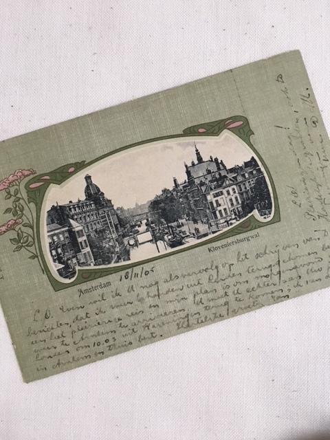 オランダアンティークのポストカード