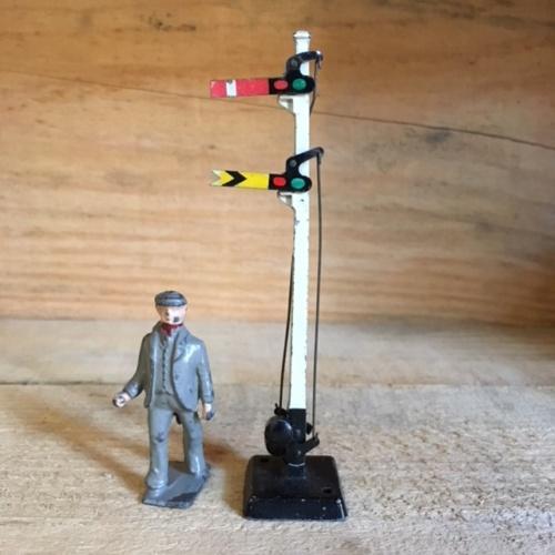 HORNBYヴィンテージ鉄道信号機ミニチュア模型