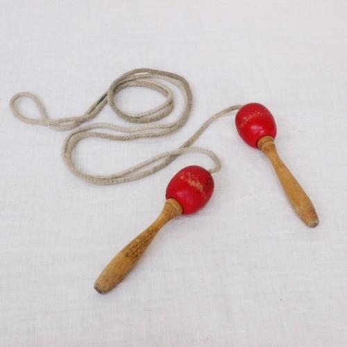 英国ヴィンテージの子ども用縄とび