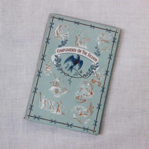 英国ヴィンテージのPENGUIN BOOKSクリスマスのご挨拶