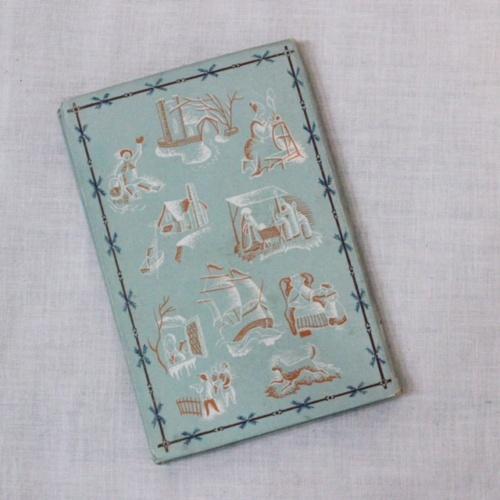 英国ヴィンテージのPENGUIN BOOKSクリスマスのご挨拶の裏表紙