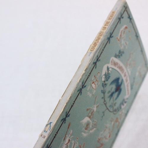 英国ヴィンテージのPENGUIN BOOKSクリスマスのご挨拶背表紙