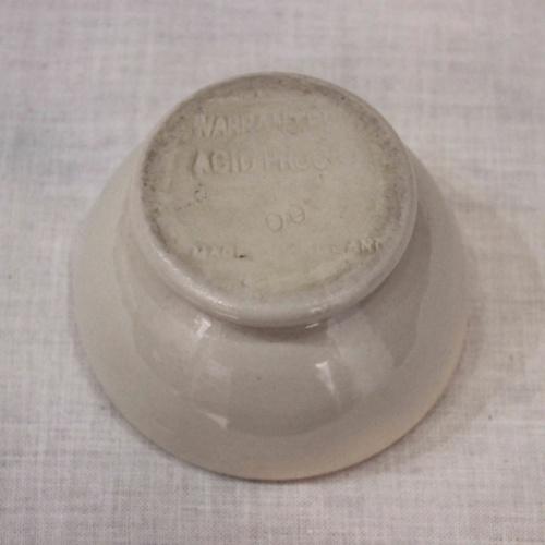 英国ヴィンテージの乳鉢の底面