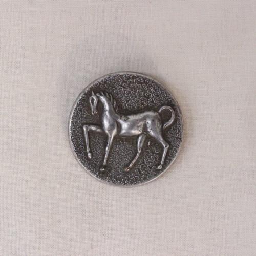 英国ヴィンテージの大きな馬のボタン