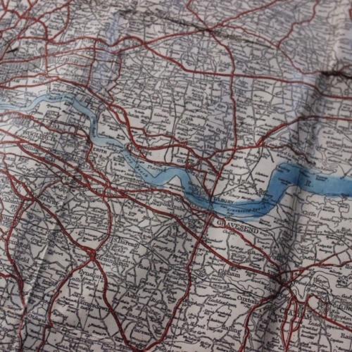 英国ヴィンテージのロンドンの地図