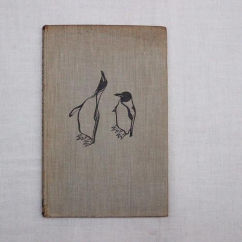 イギリスヴィンテージの鳥の本の装丁